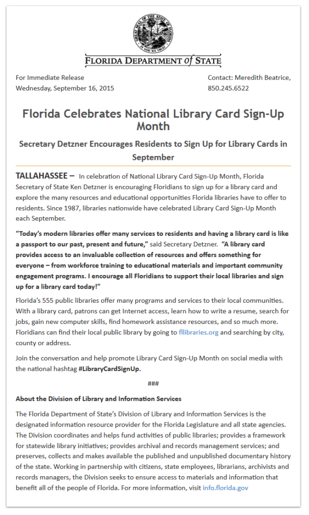 how to get a library card in florida