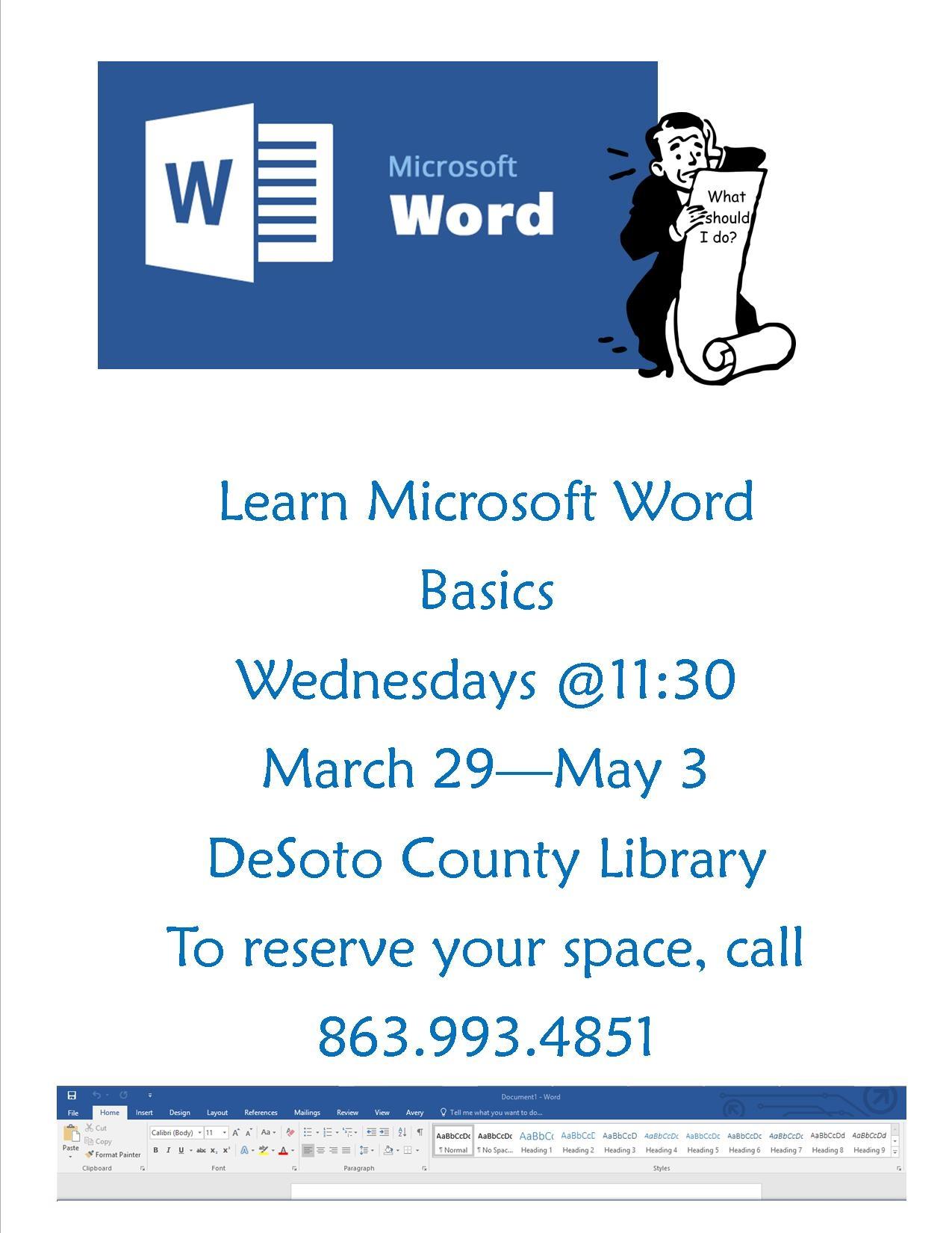 microsoft word flyer
