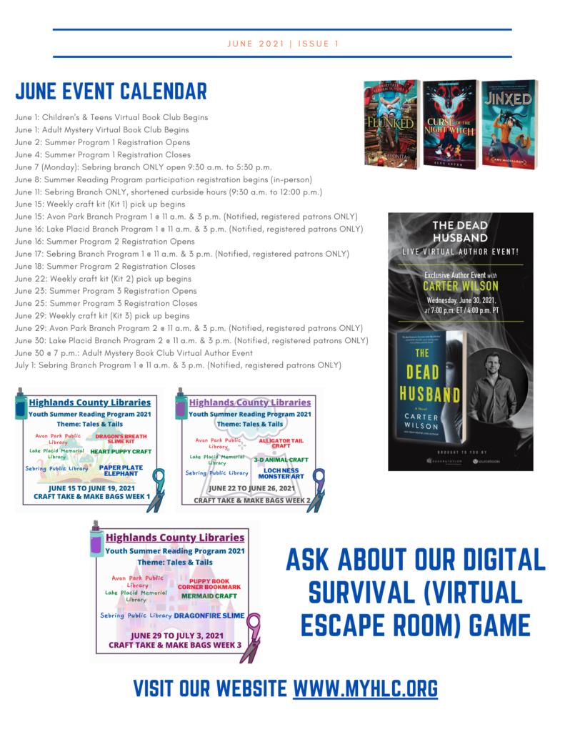 Page 2 Highlands June Newsletter