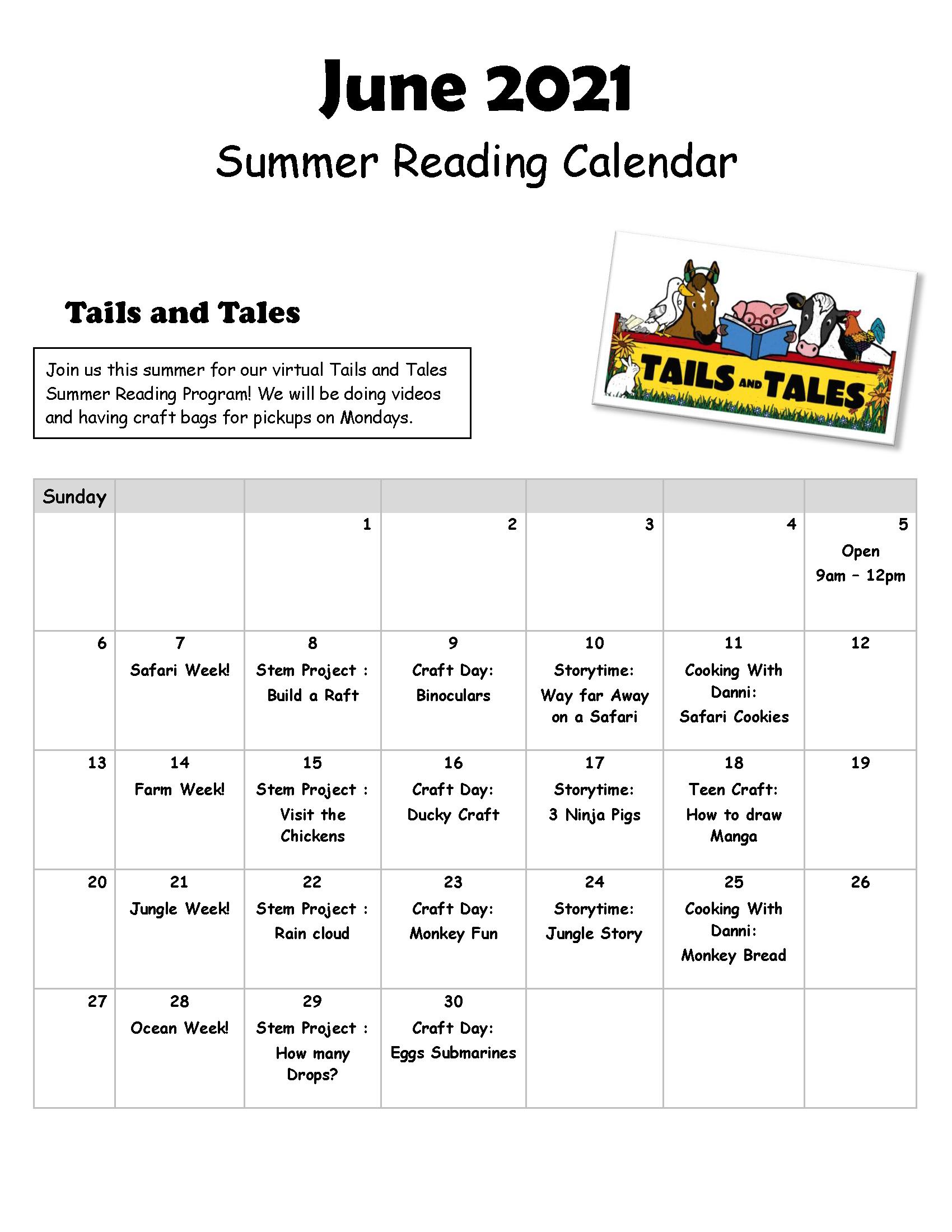 Hardee June Calendar