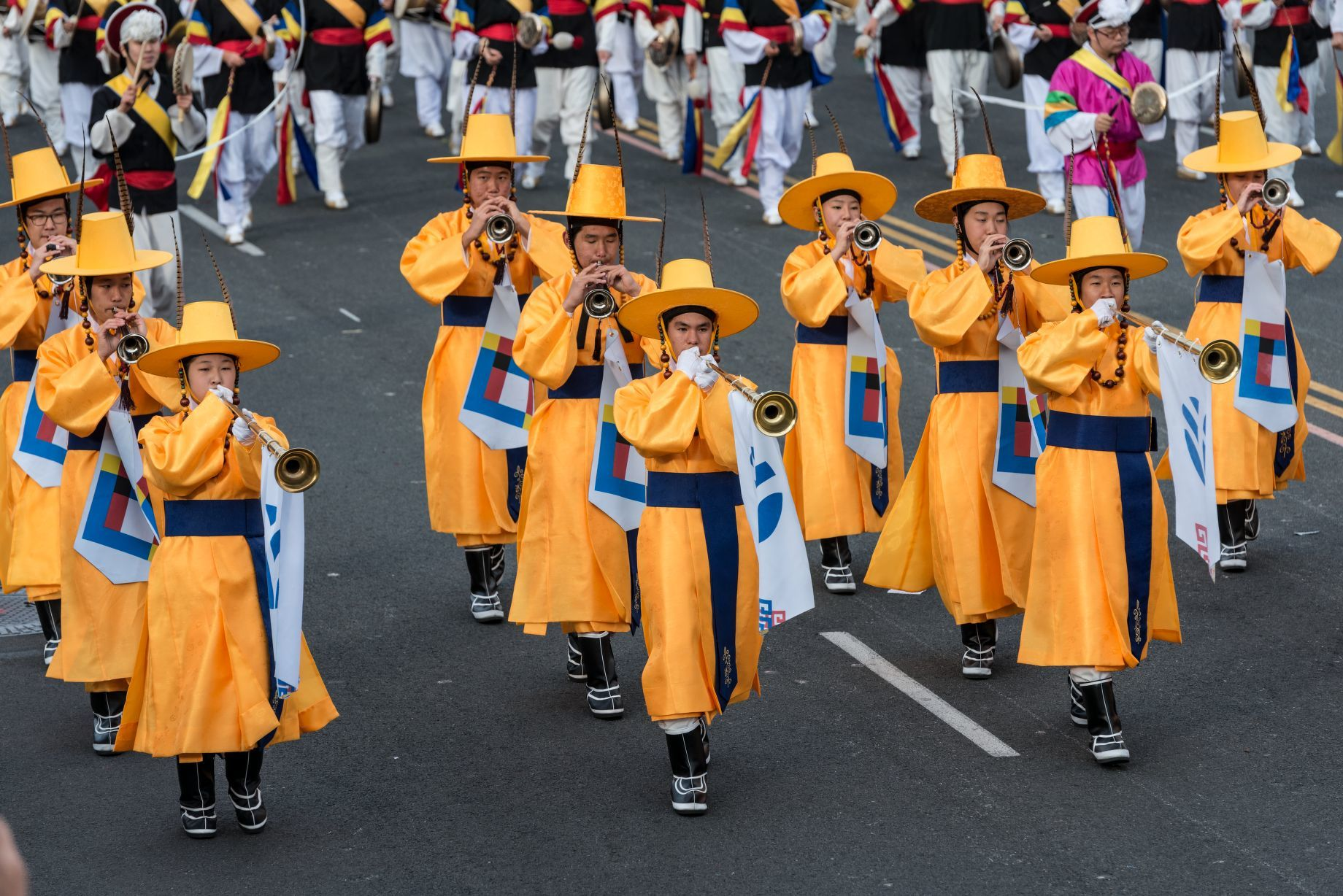 Members-of-the-PAVA-World-Korean-Traditional-Marching-Band-Library-of-Congress