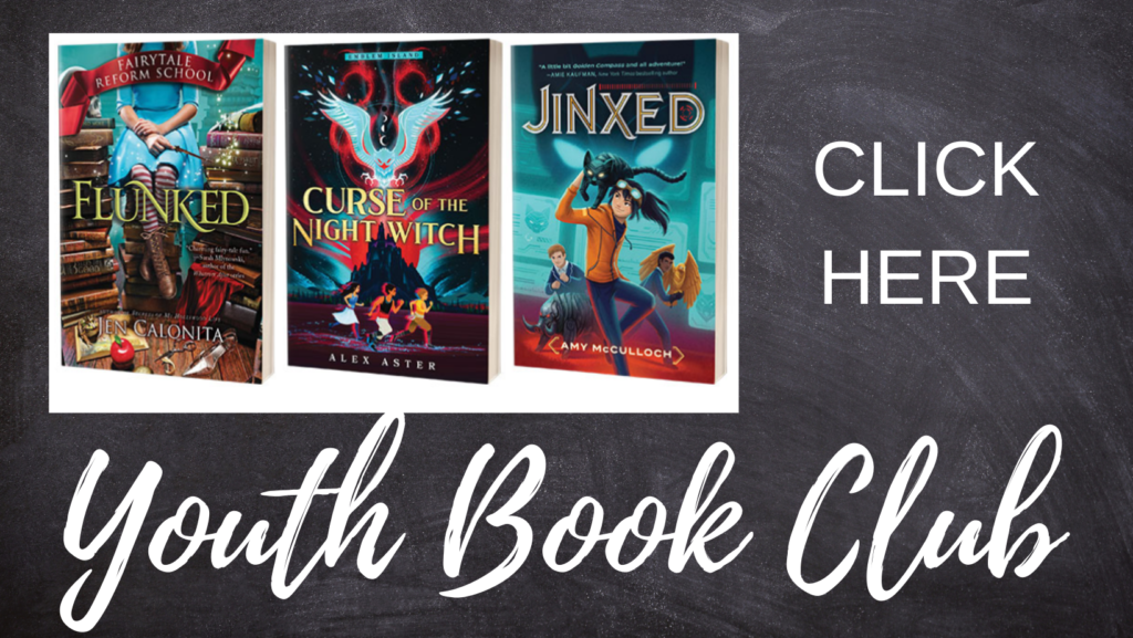 Click Here for more information on the youth summer reading program virtual book club.