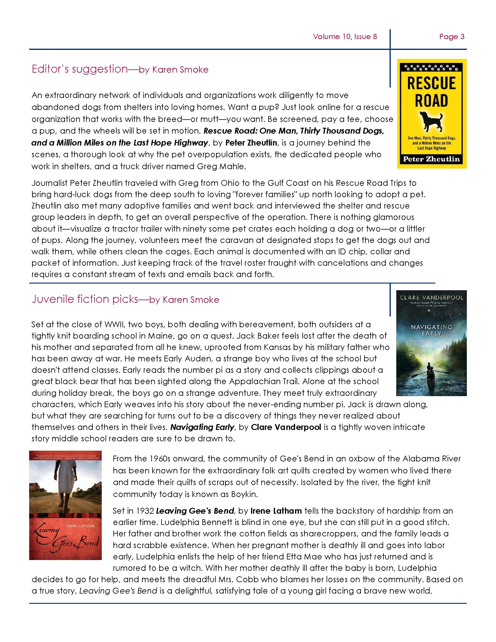 Desoto August Newsletter Page 3