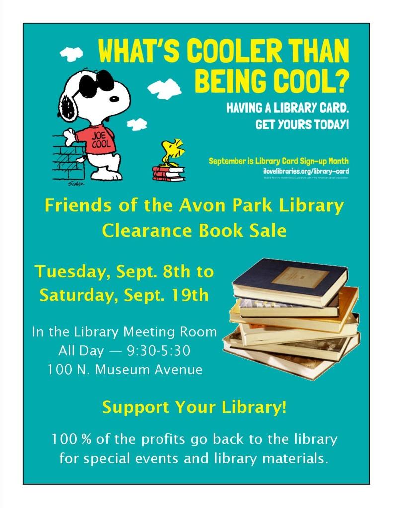 APL Friends Book Sale September 2015