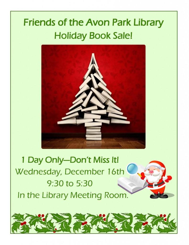 friends book sale december15