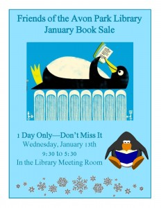friends book sale january 16