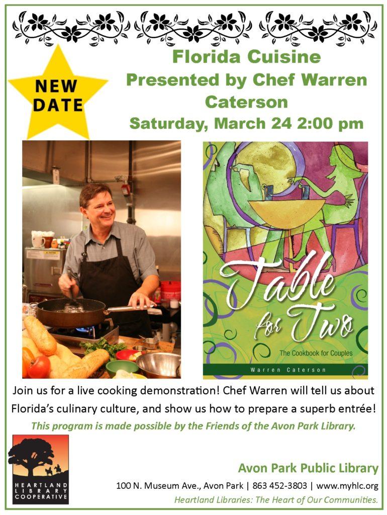chef warren florida cuisine