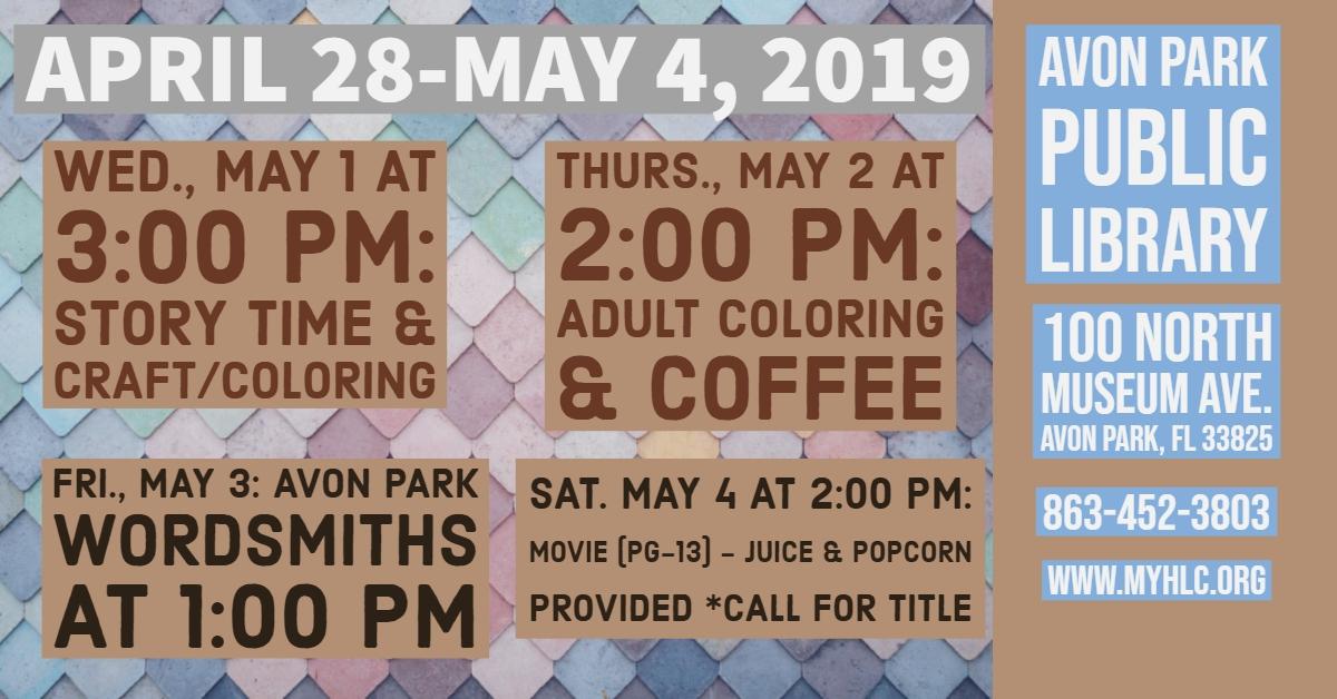 APL April 28-May 4
