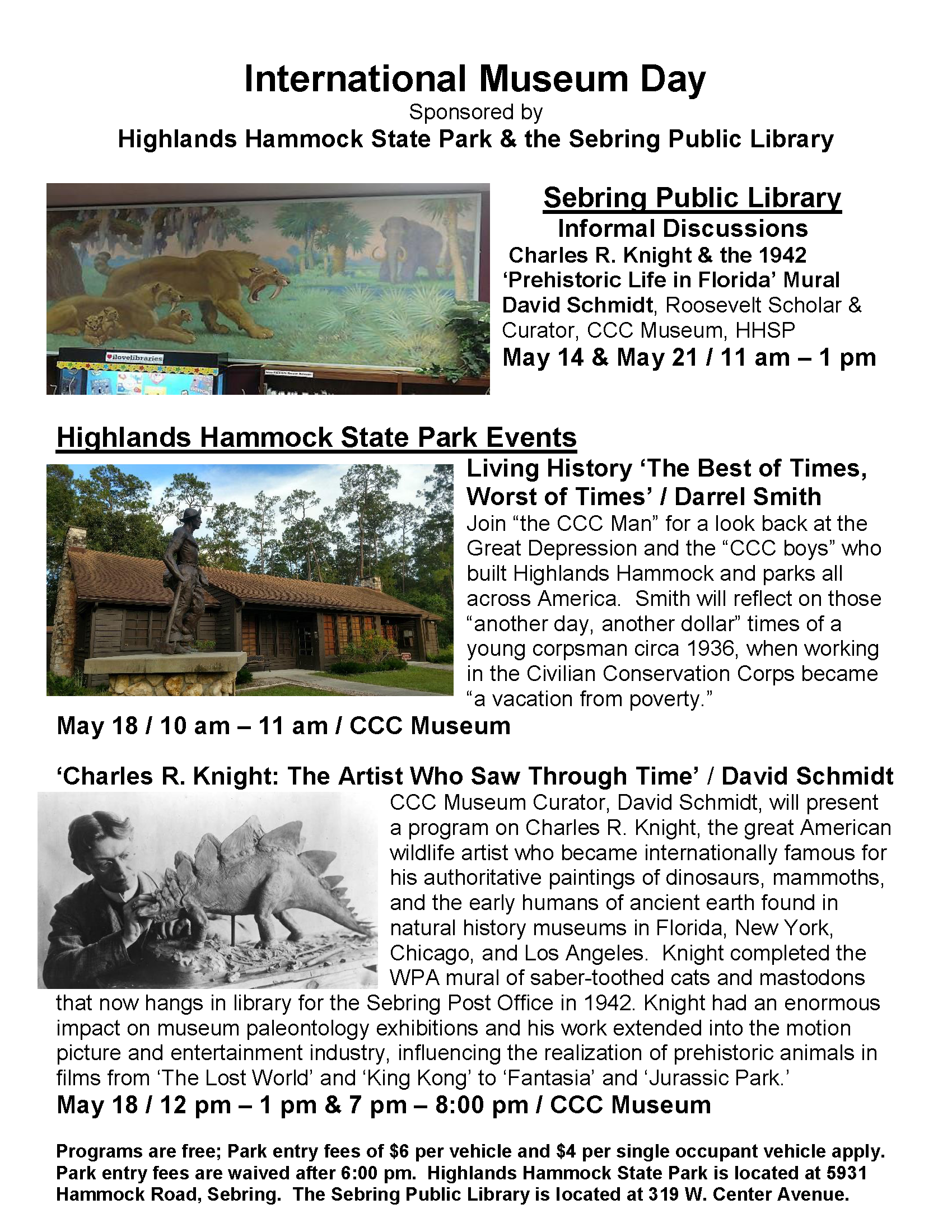 MUSEUM DAY FLYER MAY 2019