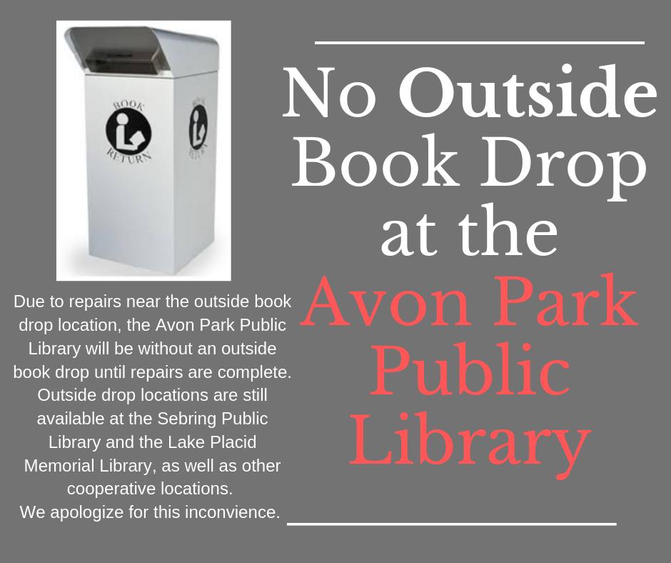 No bookdrop