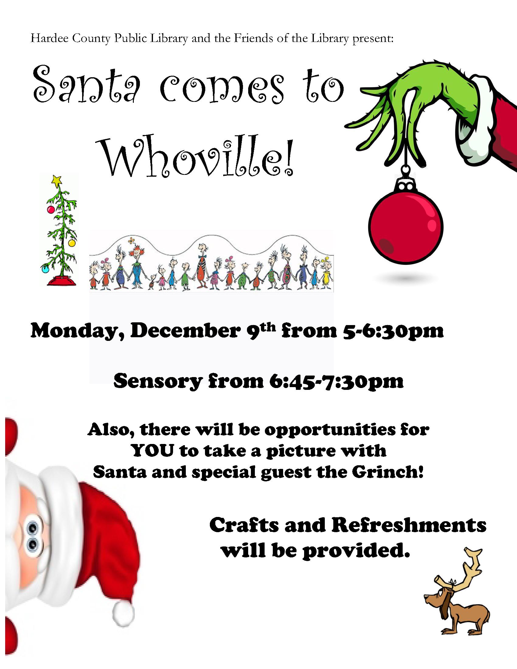 Santa Grinch Flyer - click to download PDF/A
