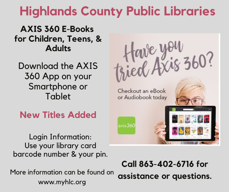 Library patrons, your Heartland Library Cooperative library card gets you access to many resources